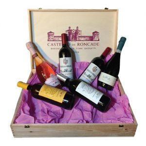 Luxury italian wine gift set