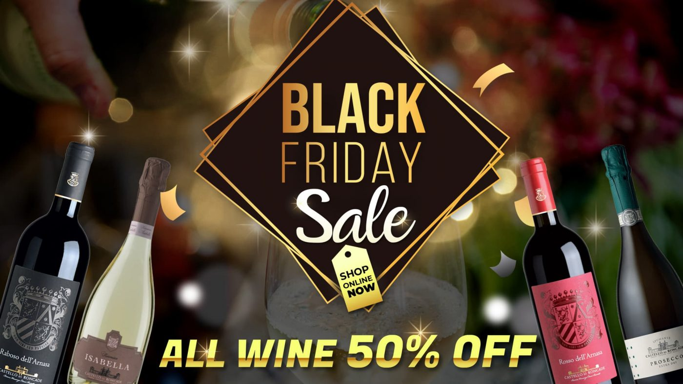 Black Friday Wine Sale